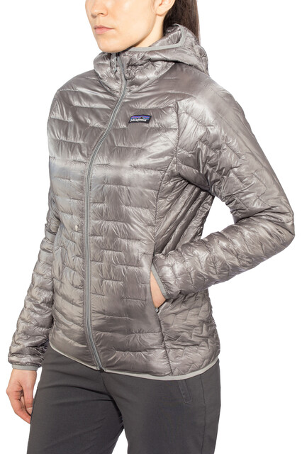 Patagonia Micro Puff Hoodie Damen feather grey